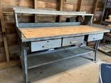 3 Drawer Work Bench
