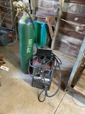 Lincoln Sp 125+ Arc Welder With Gas Tank