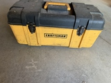 Craftsman Toolbox With Variety Of Drill Bits
