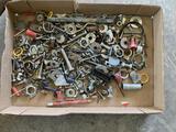 Variety Of Bolts, Screws, Nails, Washers