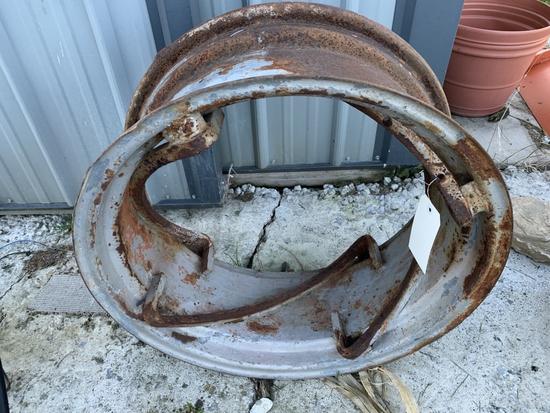 AC CA Rear Wheel, 11x24 Rim