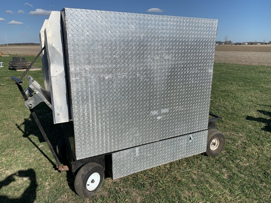 Racing Tool Box on Wheels