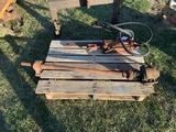 AC WC PTO shaft, draw bar & cylinder