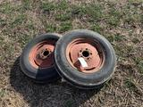 Tires & Rims for Allis Chalmers C, CA or Late B's