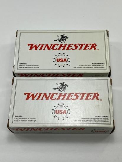 Winchester 9MM Luger 115 Grain Full Metal Jacket