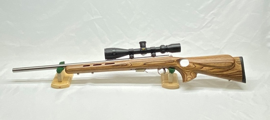 Savage Model 93R17 Cal 17 HMR with BSA Sweet 17 3-9x40 Scope