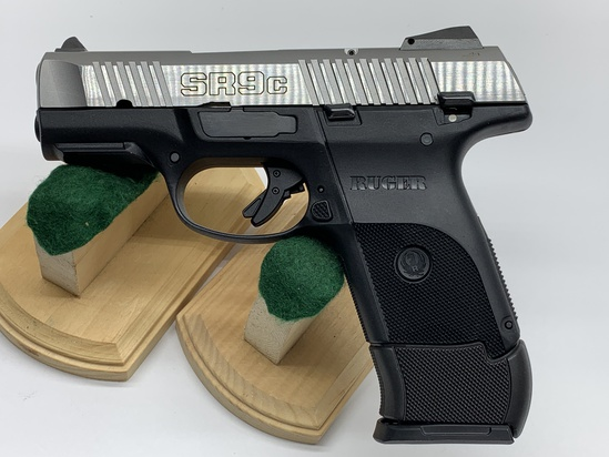 Ruger 9 mm Luger SR9c Stainless Steel