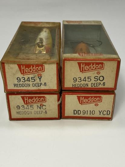 (4) Heddon Lures