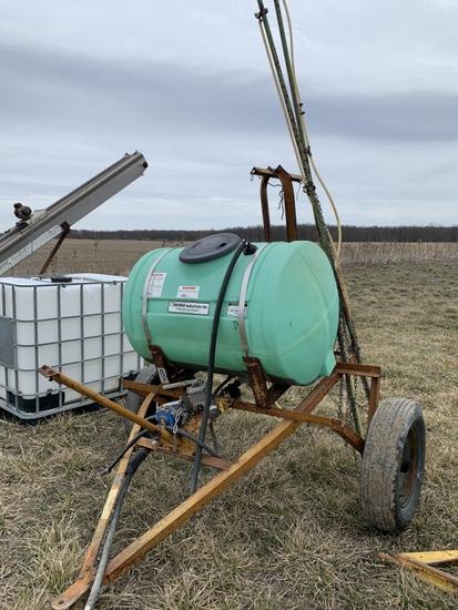 Kromer 18-ft Sprayer & 110-Gallon  Tank