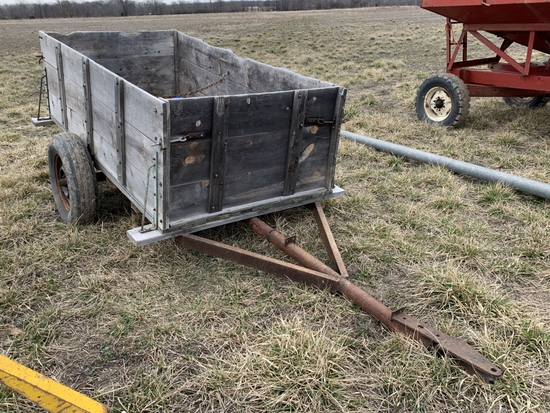 2-Wheel Trailer w/ Sides - 4-ft x 7.5-ft