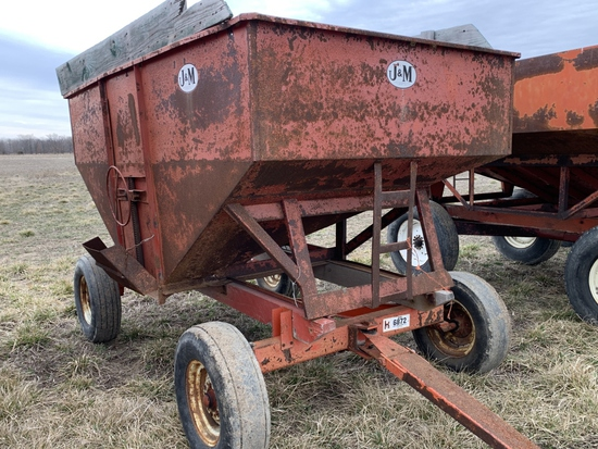 J&M Wagon with Kory 6872 Running Gear