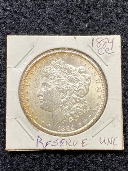 1884 CC Carson City Morgan Dollar