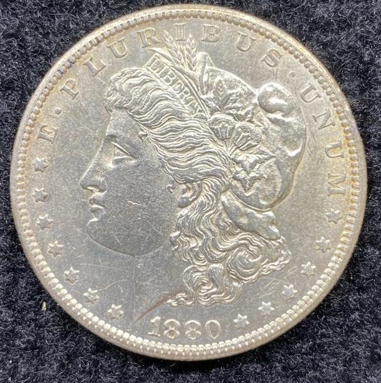 1880 S Morgan Dollar