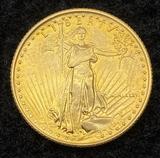 1986 Gold Eagle 1/4 oz Fine Gold $10 Coin