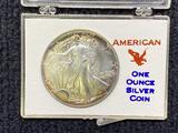 1987 Walking Liberty 1 oz Silver Dollar Coin