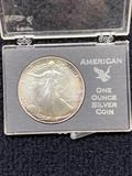 1986 Walking Liberty 1 oz Silver Dollar Coin
