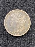 1891 O Morgan Dollar