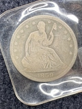 1859 Seated Half Dollar