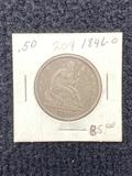 1846 O Seated Liberty Half Dollar