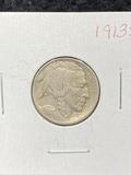 1913 S Buffalo Nickels