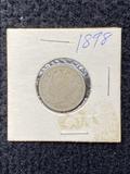 1898 V Nickel
