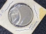 1983 D Nickel Off Center