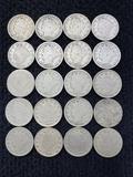 (20) V Nickels
