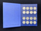 1916-1940 Liberty Walking Halves Coin Book - Missing 1921 D