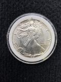 1987 Standing Liberty Dollar 1 oz Fine Silver