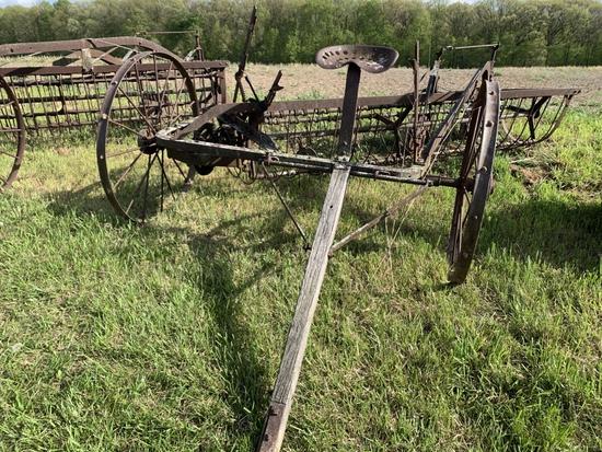 International Steel Wheel Rake