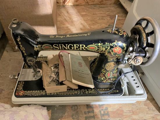Antique Model 66 Singer Sewing Machine