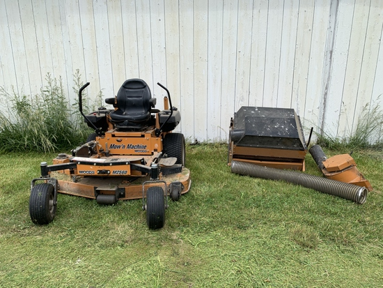 Woods M2560 Zero Turn Mower w/ Leaf Bagger