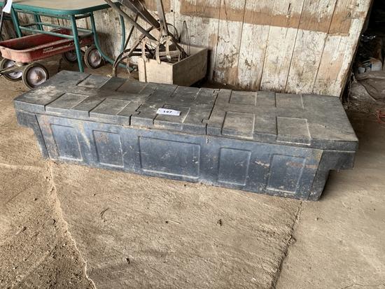 Delta Truck Tool Box, Tool Tray, Log Chain, Tools