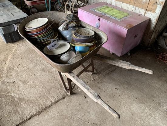 Wheelbarrow w/ Contents