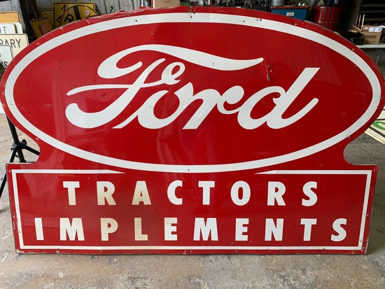 """Ford Tractors Implement Sign 71""""x 47"""""""