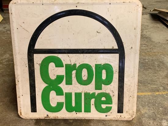 Crop Cure Metal Sign, 3'x3'