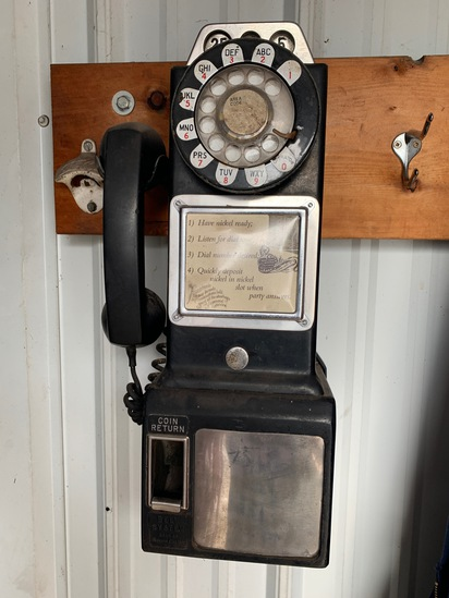 Vintage Western Electric Bell System Pay Phone