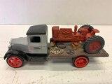 Ertl Farm & Country 1931 Hawkeye Flatbed Truck With Tractor