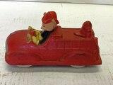 Sun Rubber Company Walt Disney Fire Truck