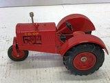 Spec Cast Co-op Tractor, Single Front Wheel, Sn 0596