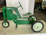 Swan Pedal Tractor, Repainted, Good Condition