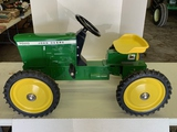 John Deere 7020 4x4 Ertl Pedal Tractor, Adjustable Seat, Very Good Condition
