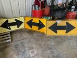 3-t Road Arrow Signs 24