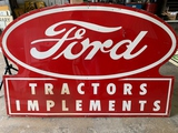 Ford Tractors Implement Sign 71
