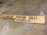 Siebenaler Tractor Sales, Hicksville Ohio 7' 2