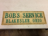 Bob's Service Magnetic Sign 24