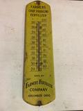 Farmers Fertilizer Company Thermometer, Columbus Ohio 27