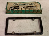 Turnbuckles Inc. Part Rack, And License Plate Cover