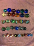 Marbles, Shooters, Pures And Cat Eyes