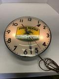 John Deere Lighted Clock From Sohn Dealership In Sherwood, Oh